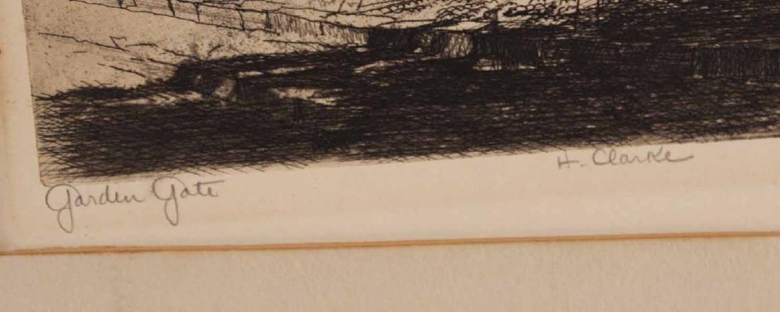 Five Landscape Etchings - 3