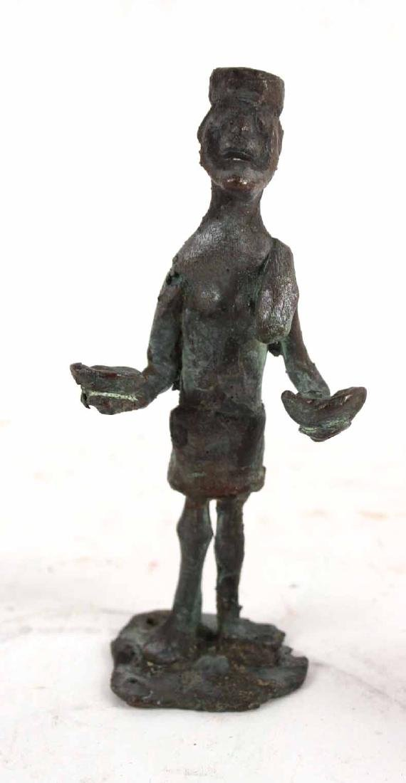 Three African Bronze Figures - 3