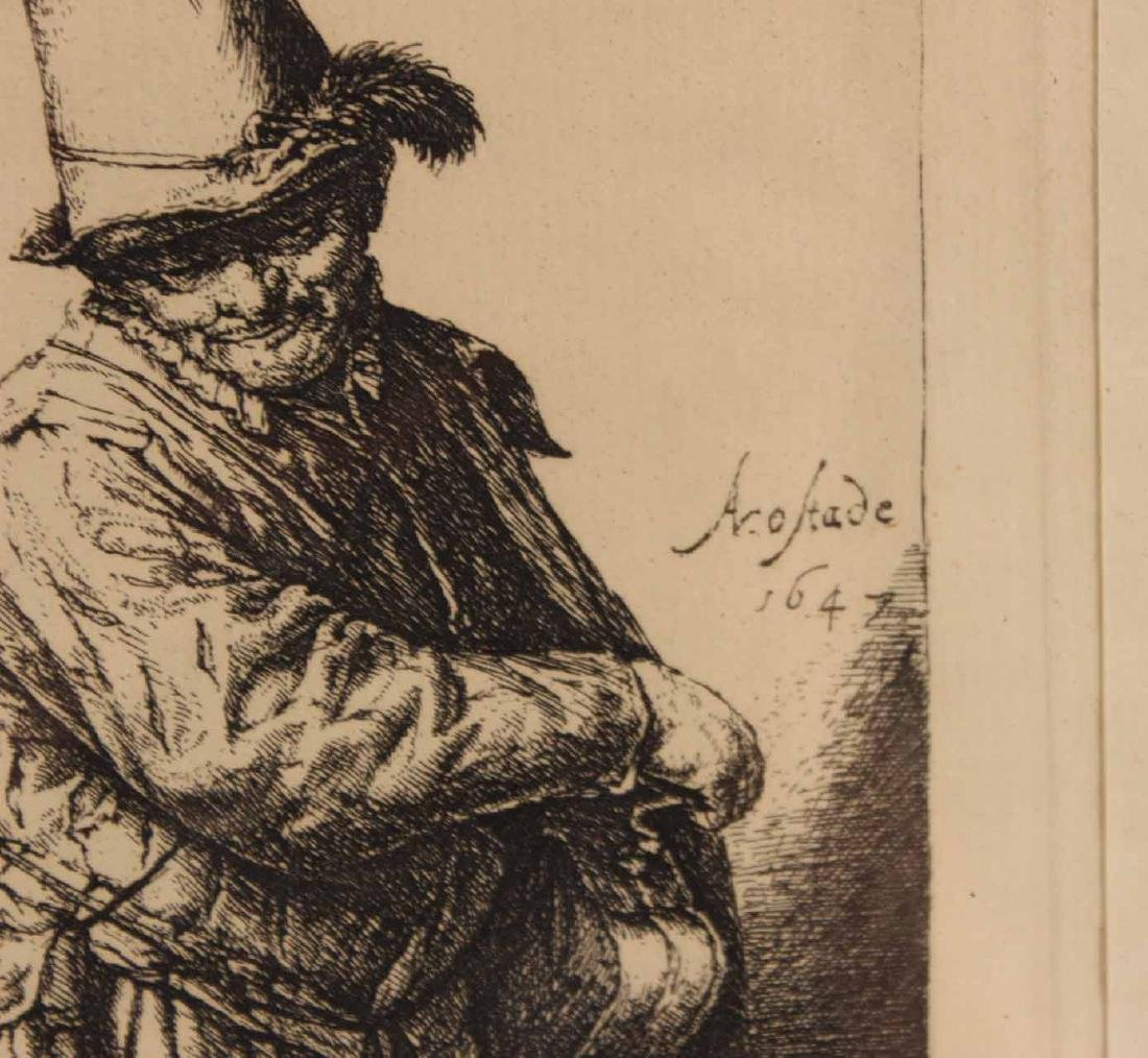 Engraving, Portrait of an Old Man - 3