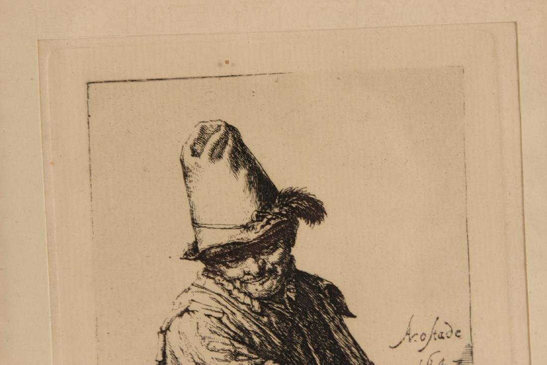 Engraving, Portrait of an Old Man - 4