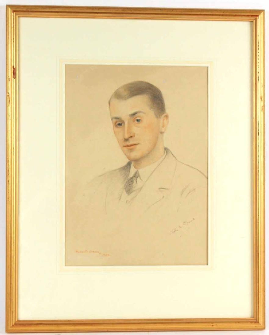 Portrait Drawing, Robert Swan, Stephen McKennah