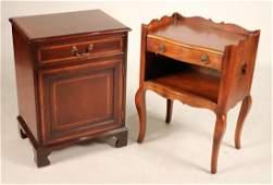 Hickory Chair Co. Walnut Pot Cupboard