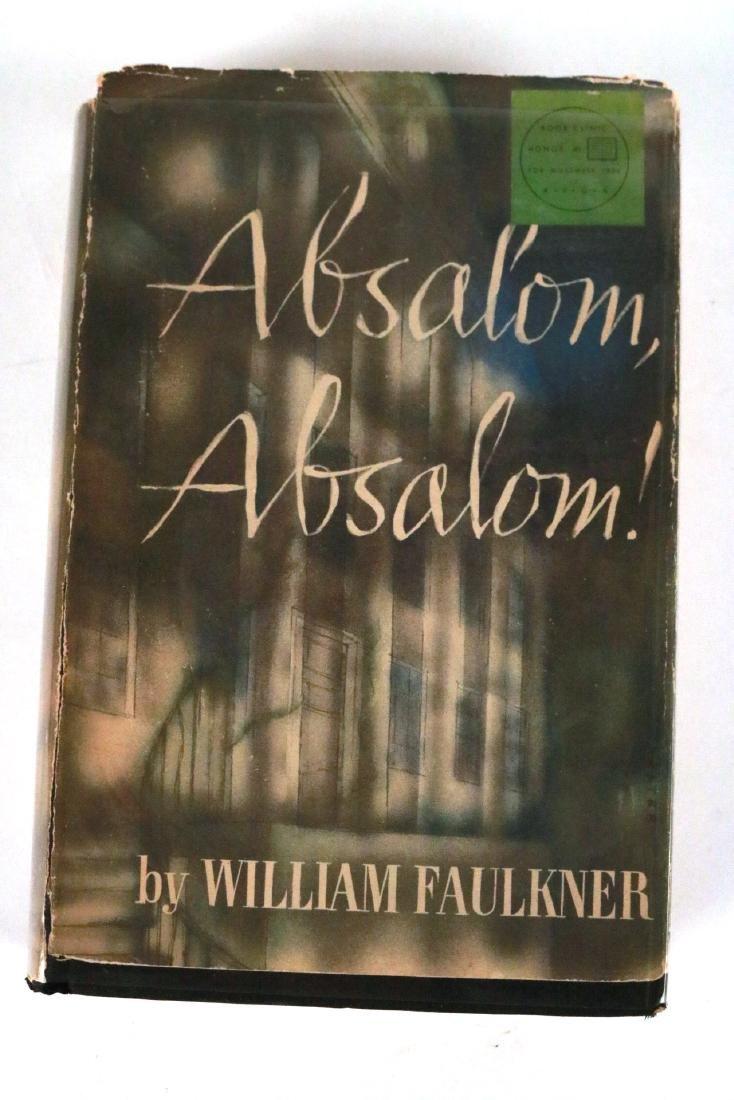 """Absalom, Absalom!"" by William Faulkner."