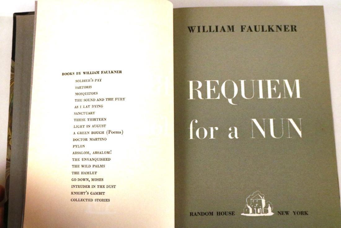 """Requiem For a Nun"" by William Faulkner. - 7"