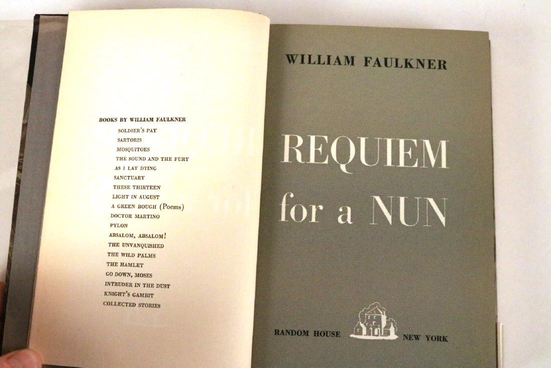 """Requiem For a Nun"" by William Faulkner. - 4"