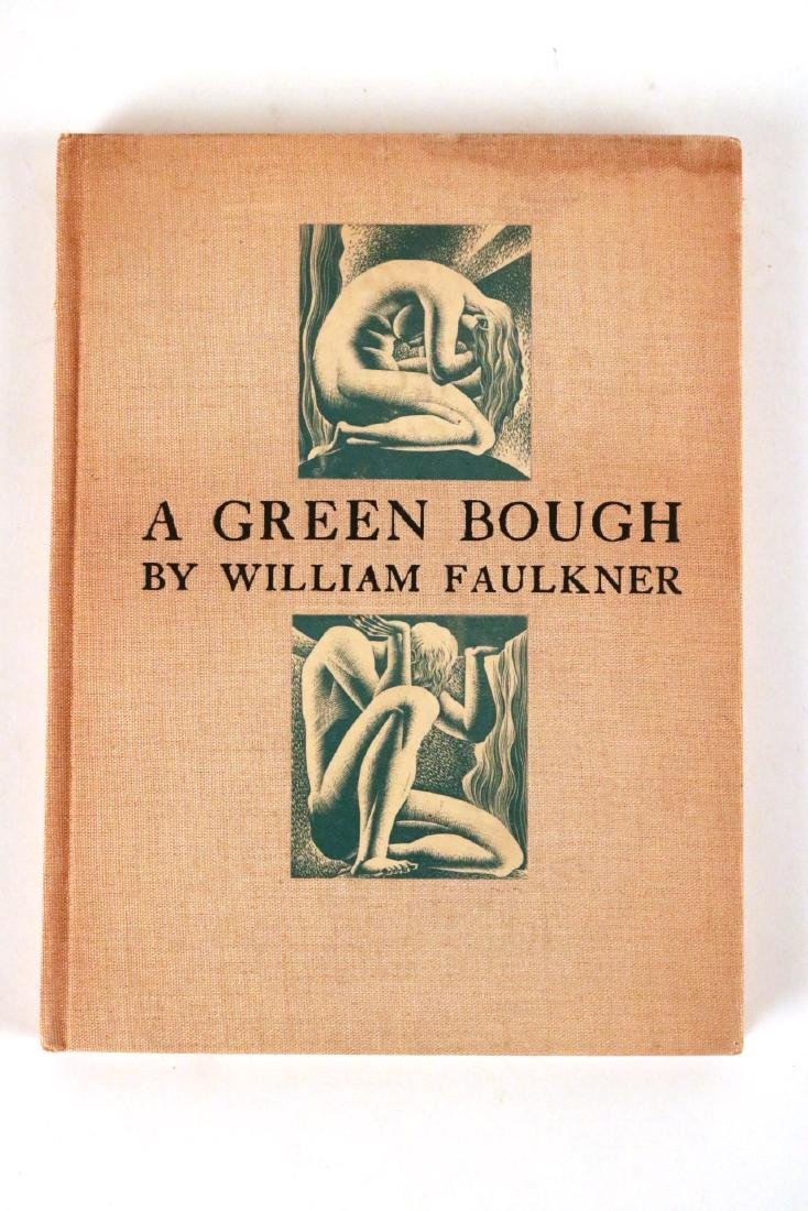 """""""A Green Bough"""" by William Faulkner."""
