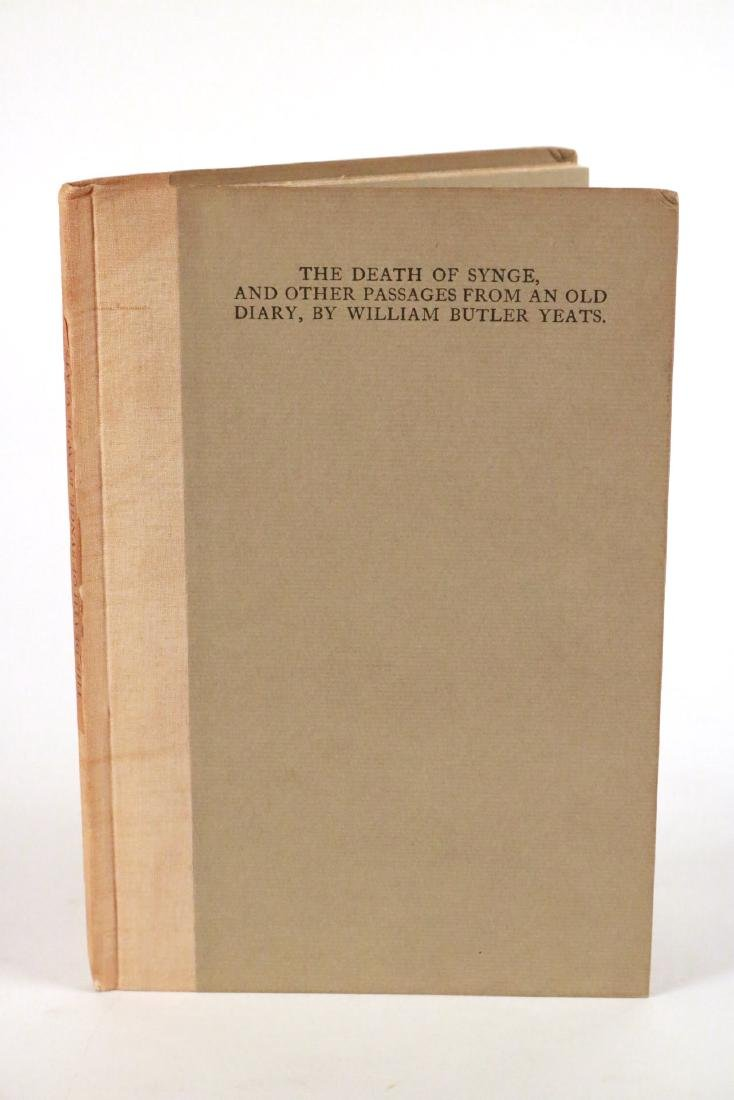 """The Death of Synge..."" by William Butler Yeats"