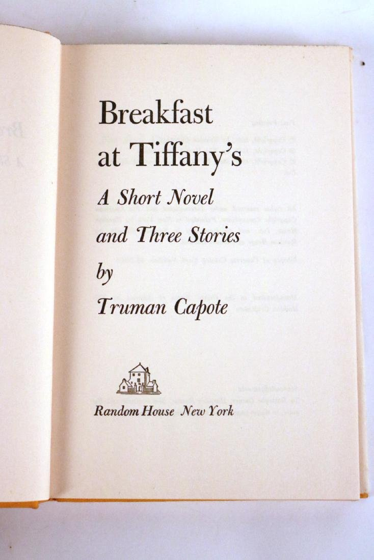 """Breakfast at Tiffany's"" by Truman Capote - 5"
