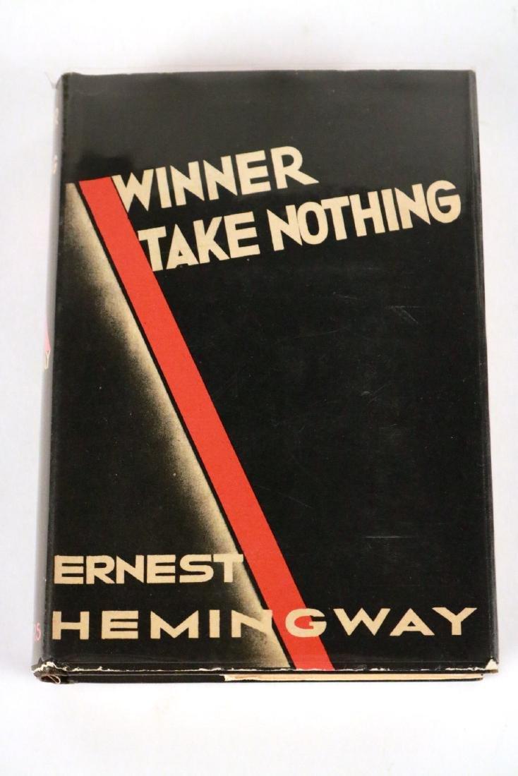 """Winner Take Nothing"" by Ernest Hemingway"