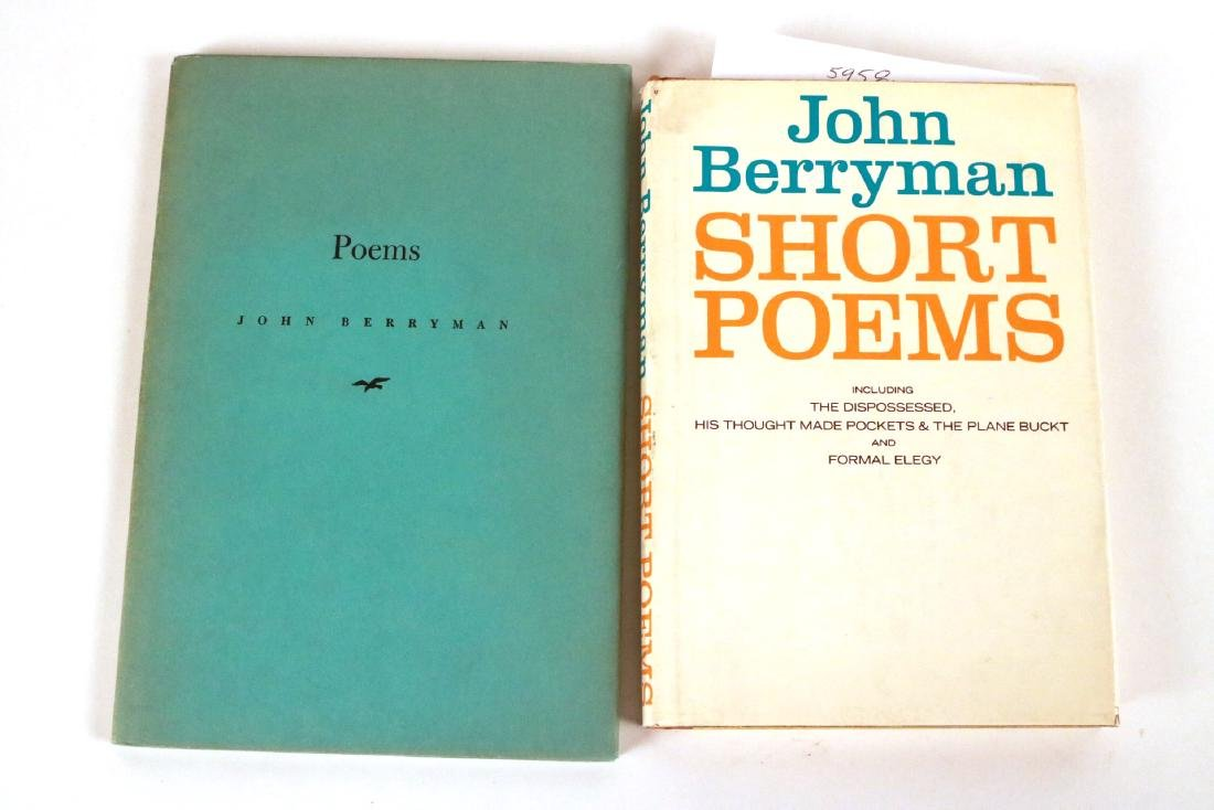 Five Books by John Berryman - 3