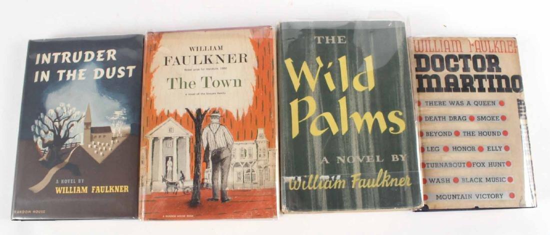 Eight Books by William Faulkner - 2