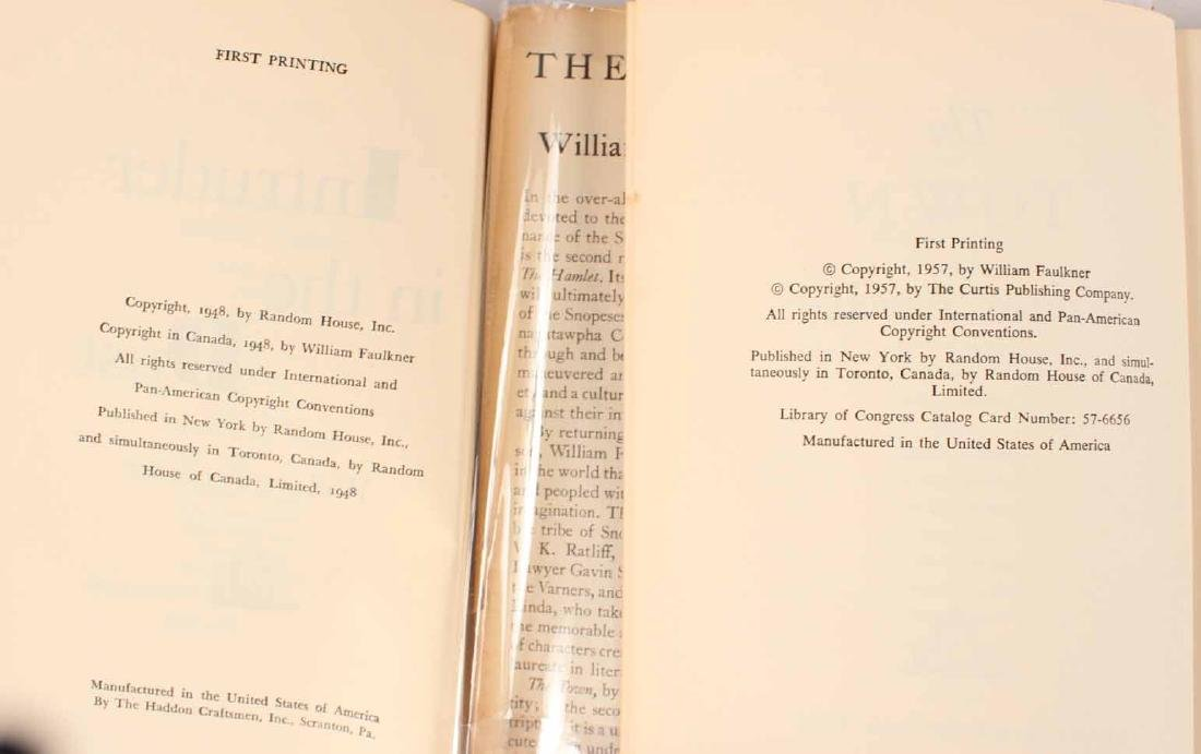 Eight Books by William Faulkner - 3
