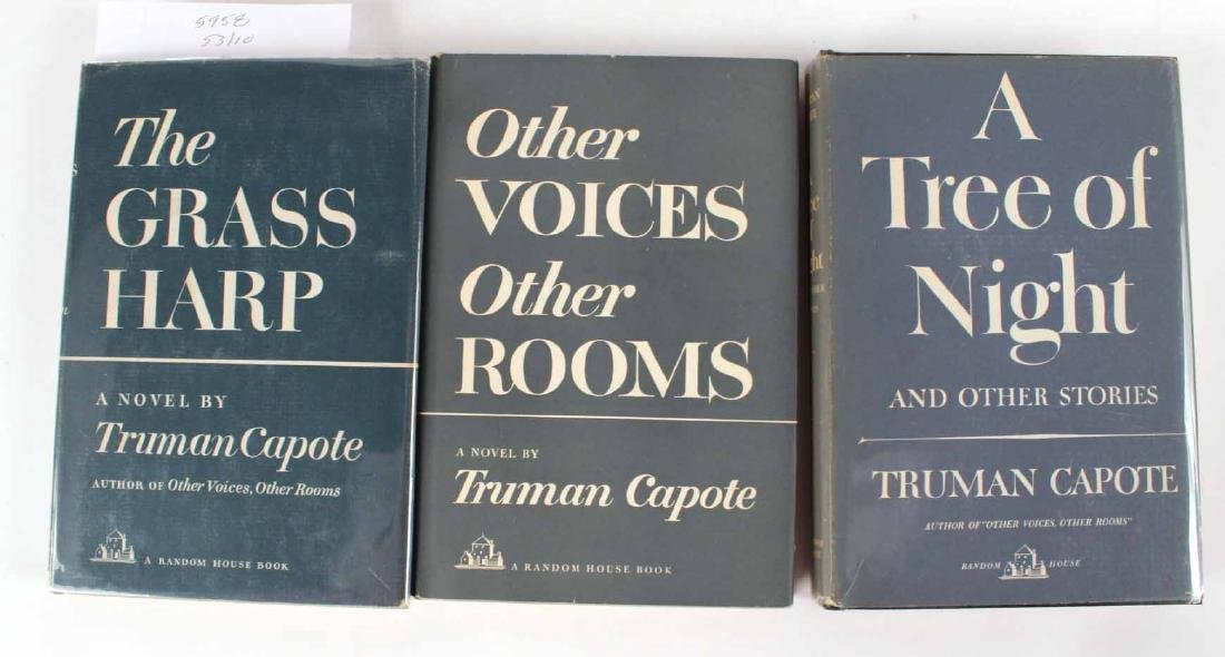 Ten Books by Truman Capote - 3