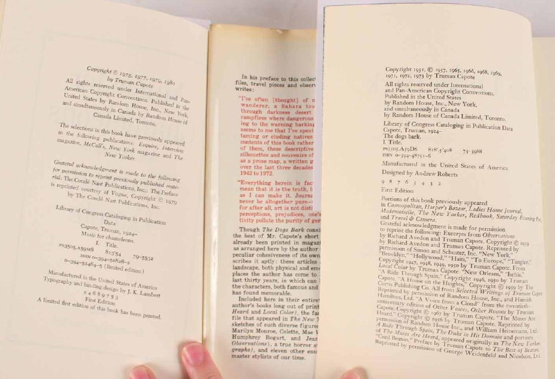 Ten Books by Truman Capote - 9