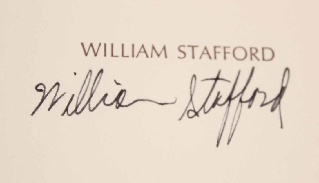 Ten Works by William Stafford - 10
