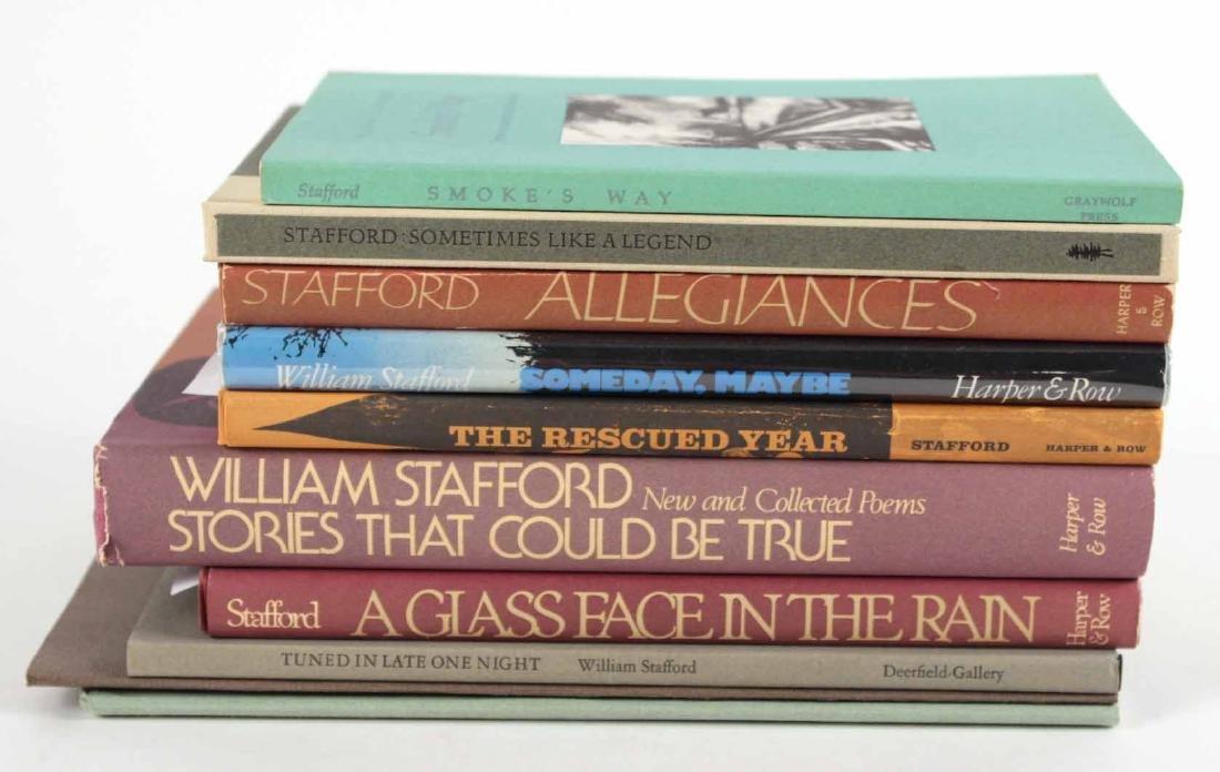 Ten Works by William Stafford
