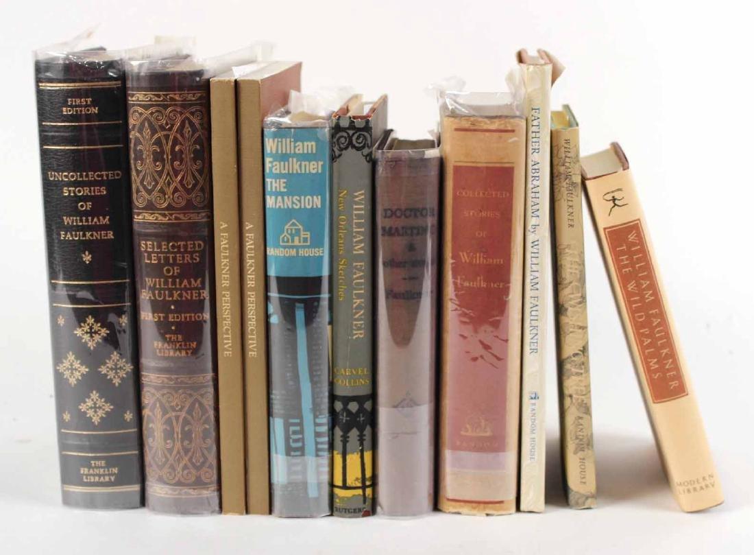 Eleven Books by William Faulkner