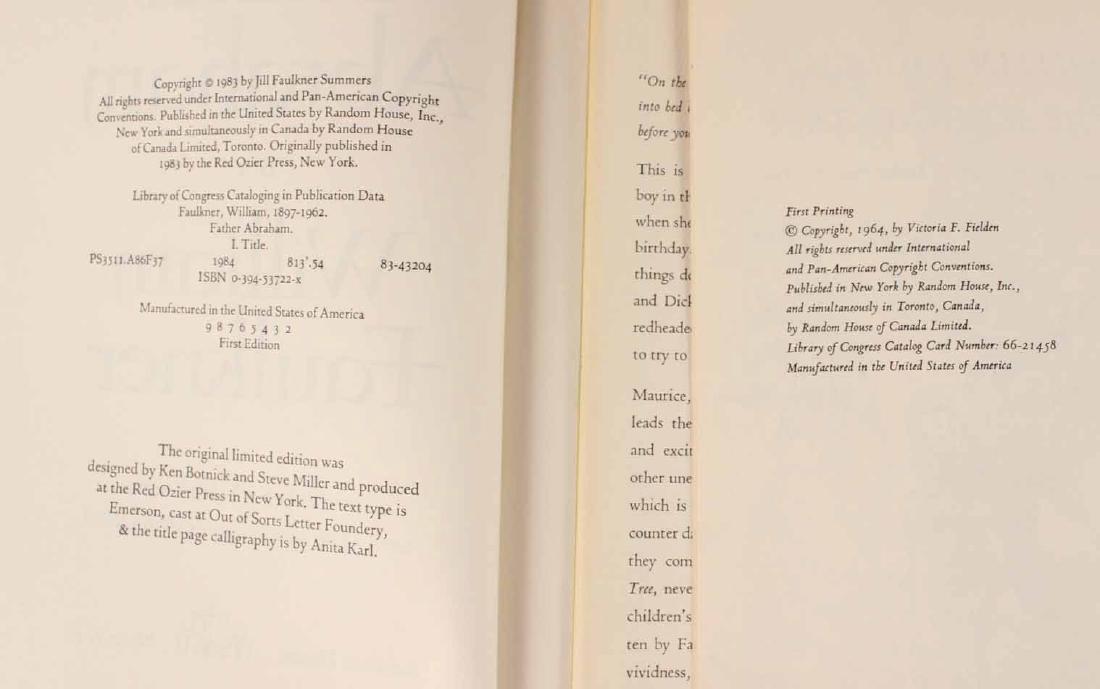 Eleven Books by William Faulkner - 3