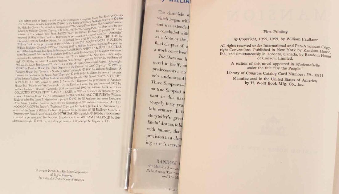 Eleven Books by William Faulkner - 8