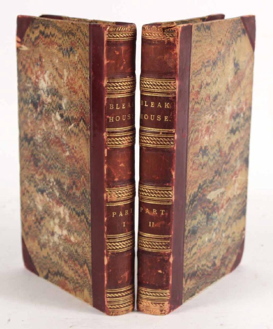 "Two Volumes ""Bleak House"" by Charles Dickens"