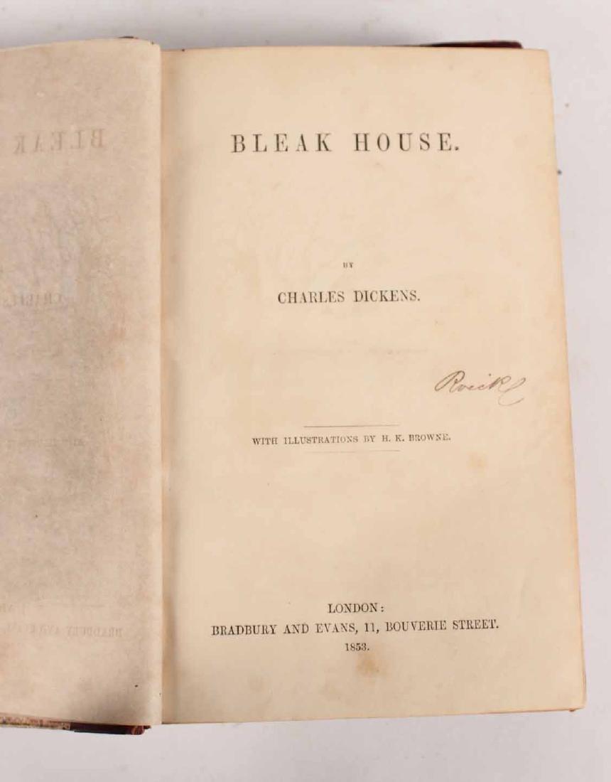 "Two Volumes ""Bleak House"" by Charles Dickens - 3"