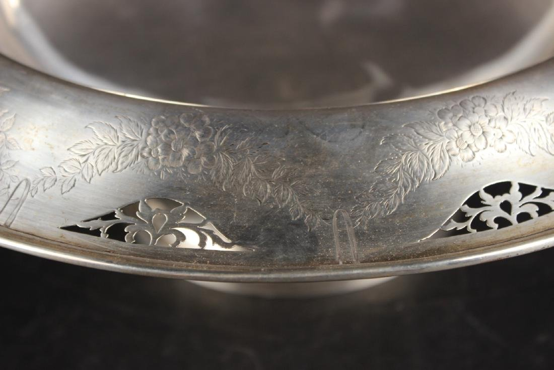 American Sterling Silver Footed Bowl - 3