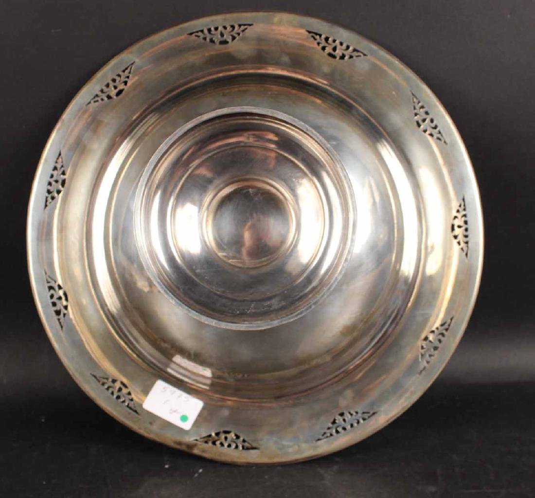 American Sterling Silver Footed Bowl - 5