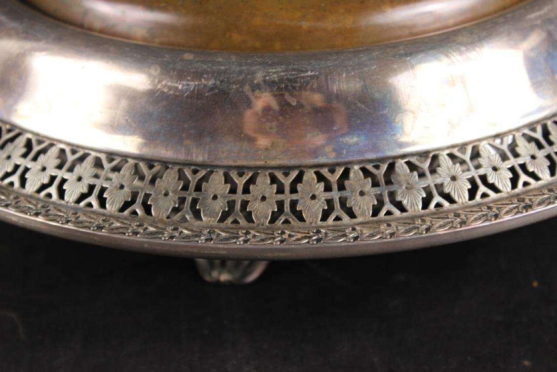 American Sterling Silver Floral Centerpiece Bowl - 2