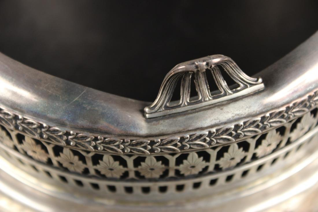 American Sterling Silver Floral Centerpiece Bowl - 5