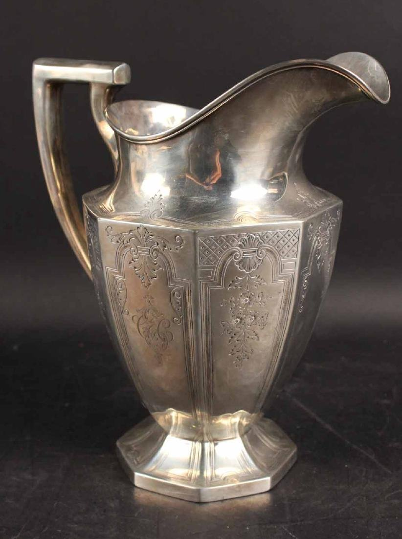 Dominick & Haff Sterling Silver Water Pitcher