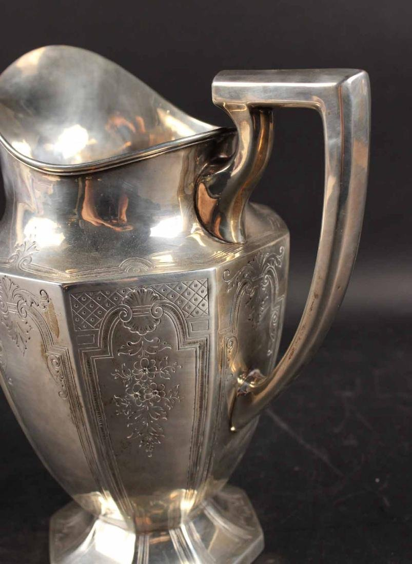 Dominick & Haff Sterling Silver Water Pitcher - 4