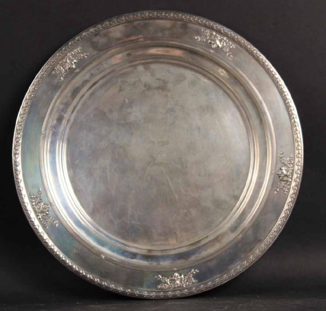 Dominick & Haff Sterling Silver Circular Tray