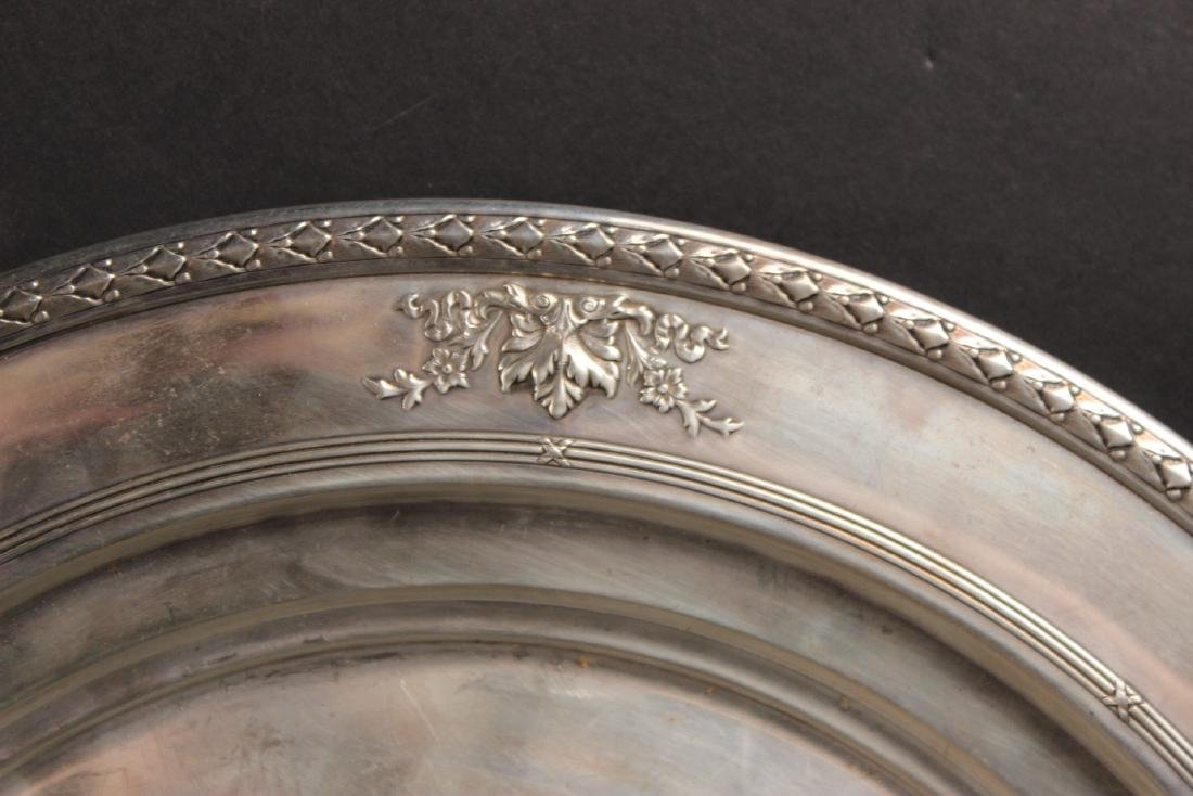 Dominick & Haff Sterling Silver Circular Tray - 3