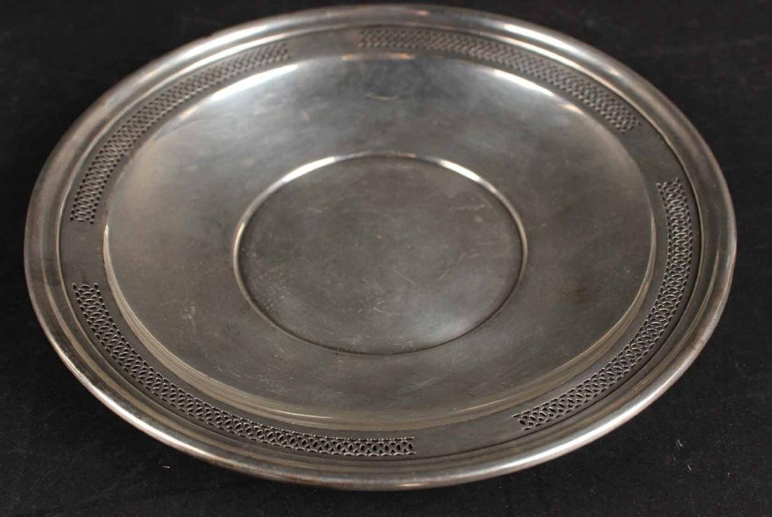 Matthews Sterling Silver Oval Bread Tray - 5