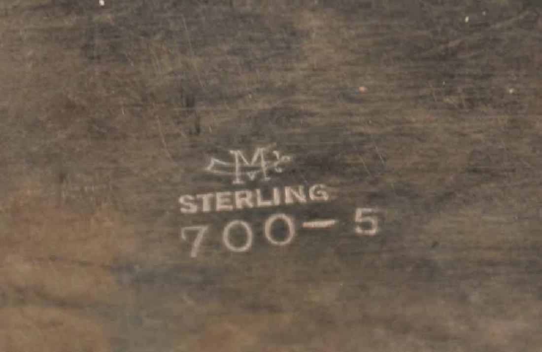 Matthews Sterling Silver Oval Bread Tray - 7