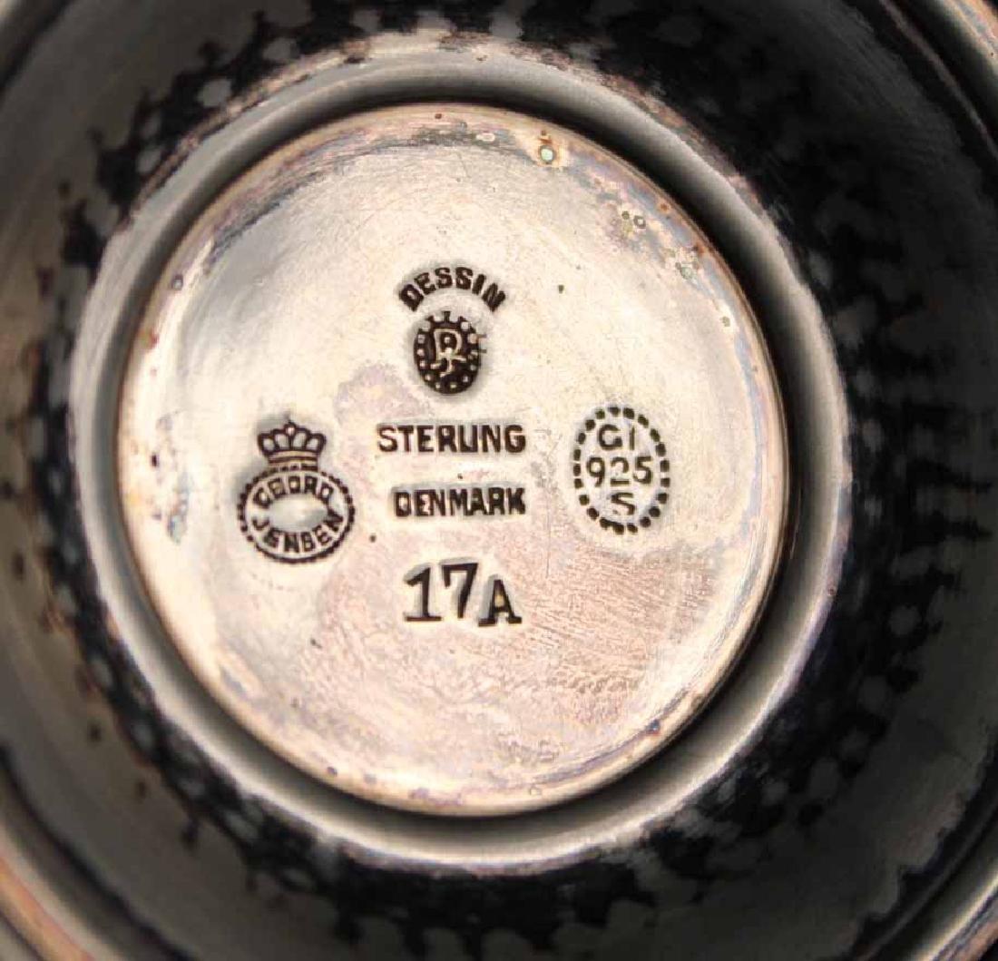 Georg Jensen, Denmark Sterling Silver Compote - 4