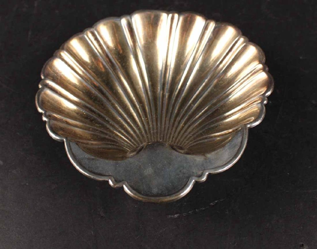 Three American Sterling Silver Shell Form Dishes - 4