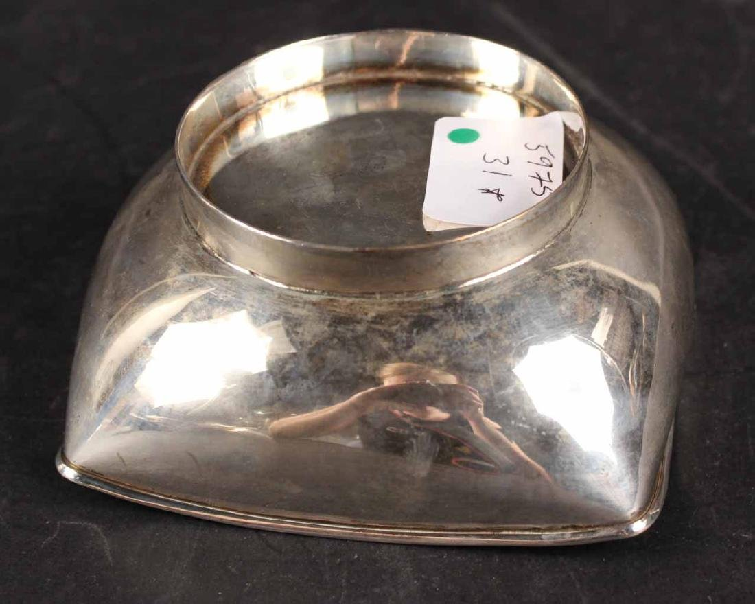 Mexican Sterling Silver Modern Bowl - 3