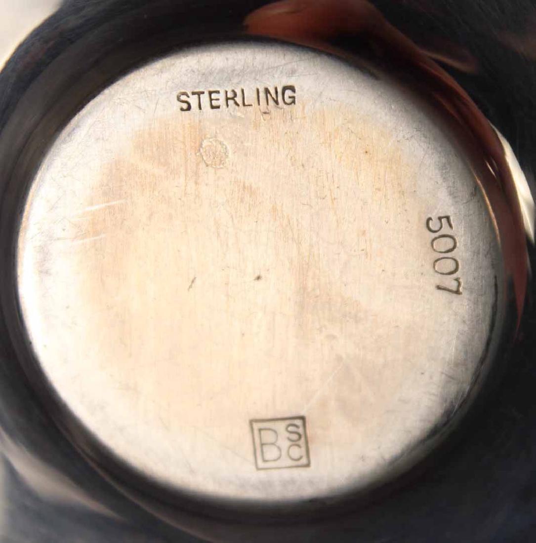 J.E. Caldwell Sterling Silver Demi-Tasse Service - 8