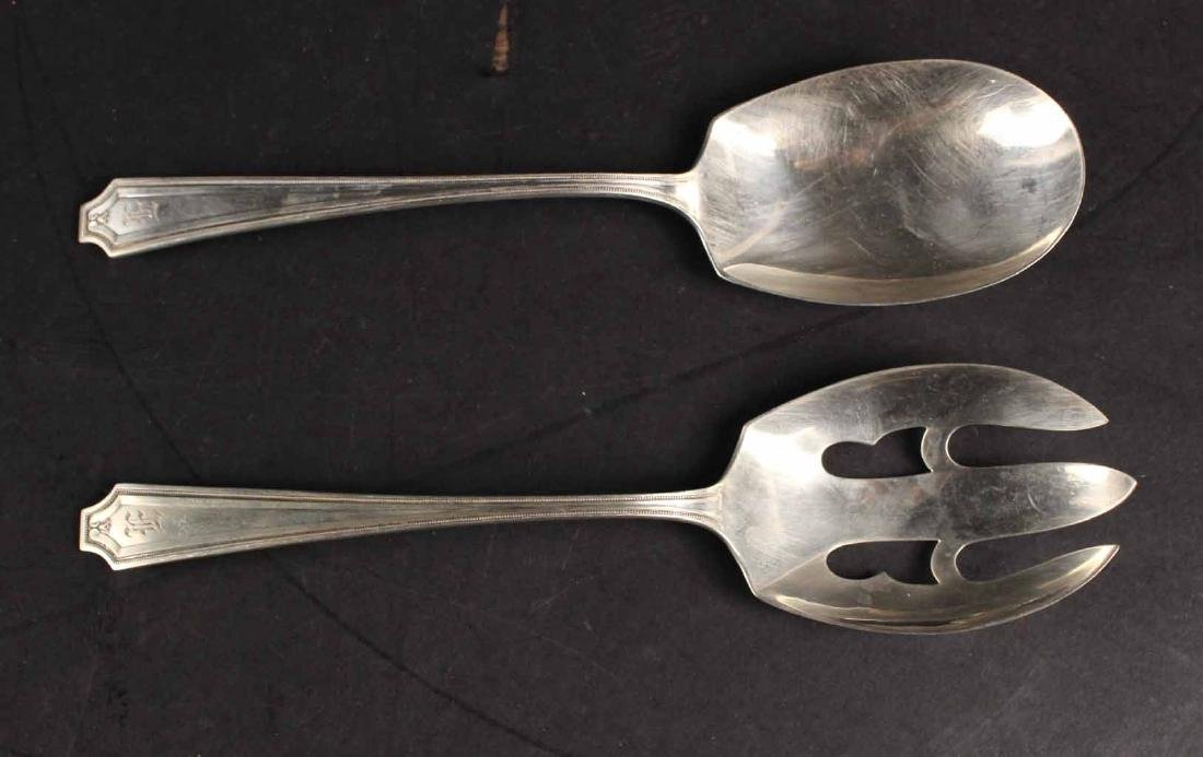 Group of Sterling Silver Flatware Serving Pieces - 4