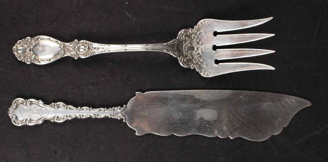 Group of Sterling Silver Flatware Serving Pieces - 5