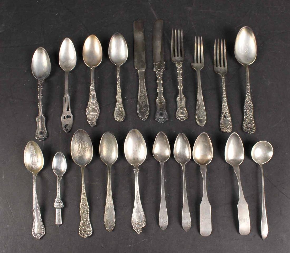 Group of Miscellaneous Flatware Items