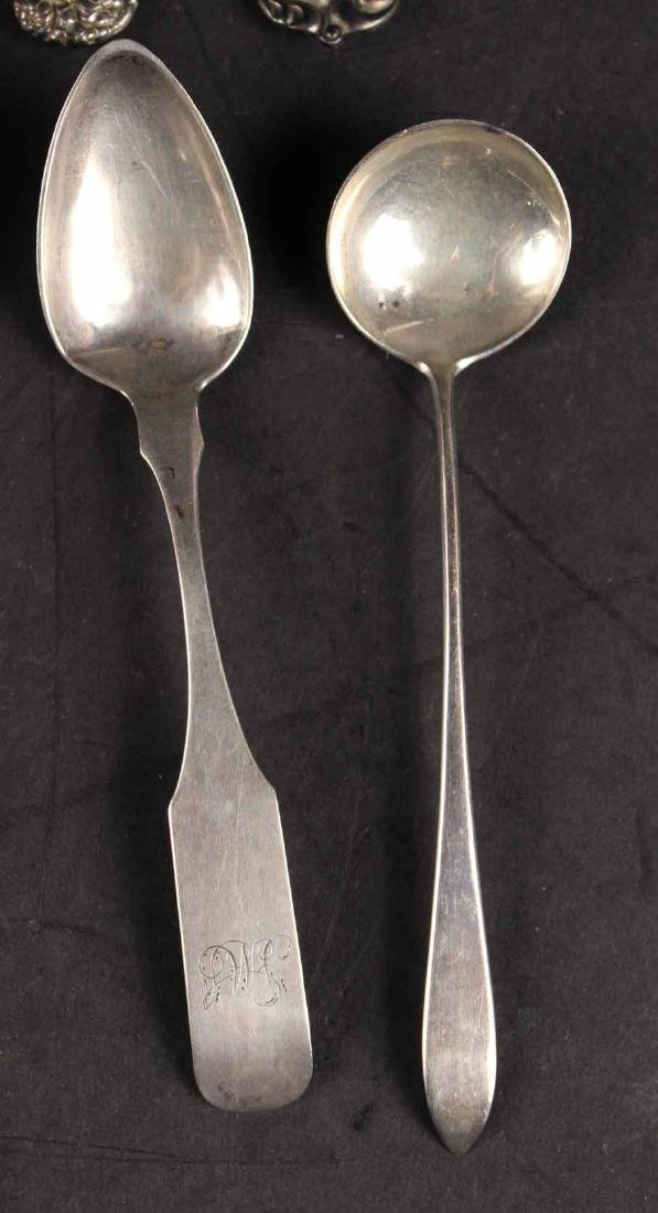 Group of Miscellaneous Flatware Items - 8