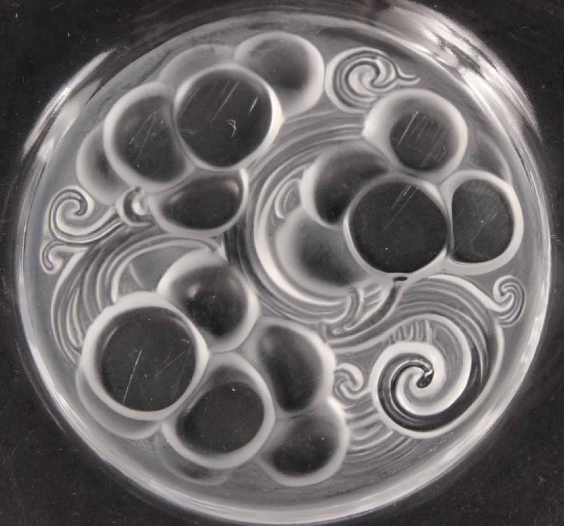 Eight Lalique Dessert Plates - 3