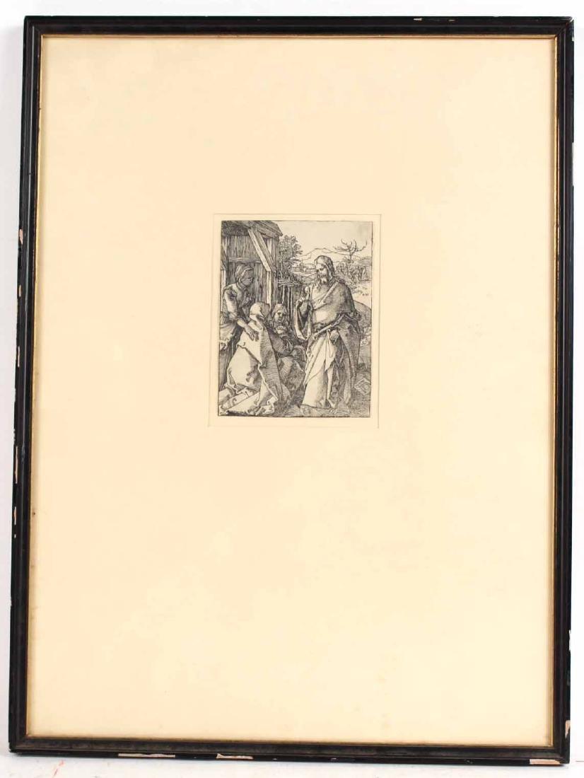 """Woodcut, """"Little Passion,"""" Albrecht Durer"""