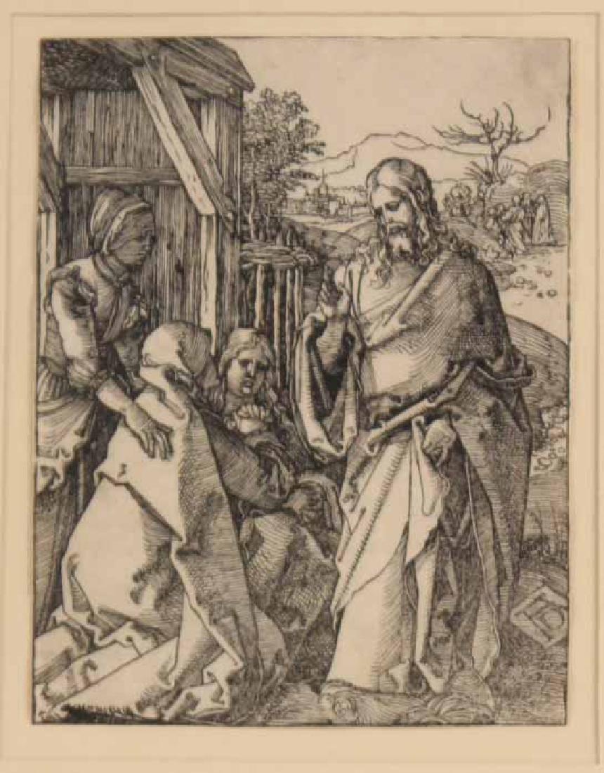 """Woodcut, """"Little Passion,"""" Albrecht Durer - 2"""