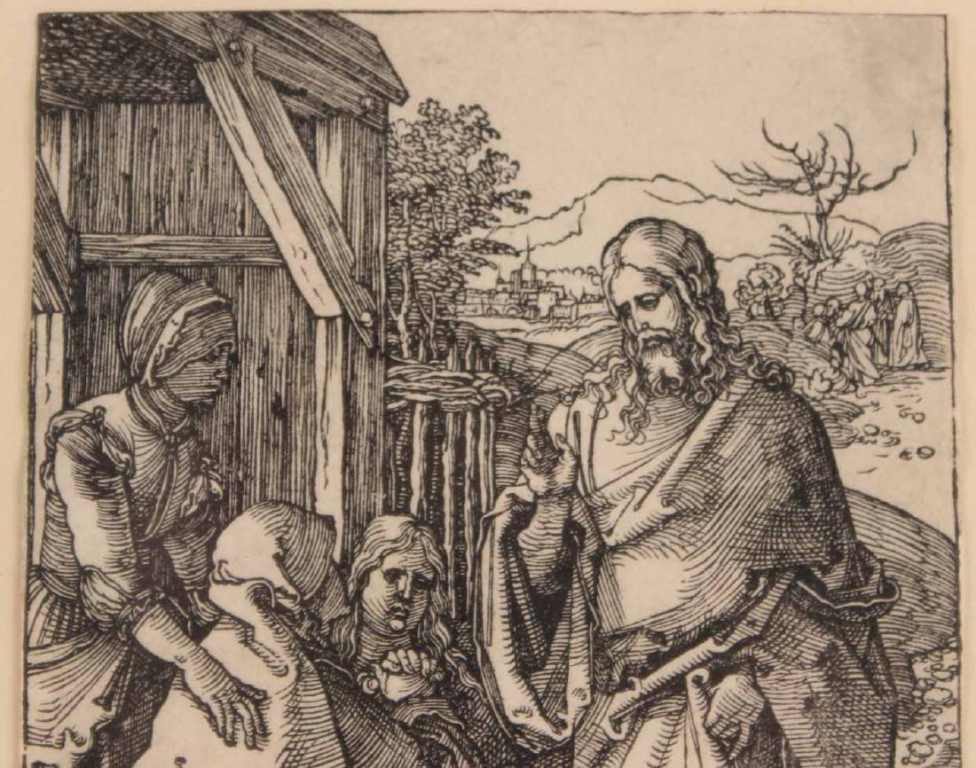 """Woodcut, """"Little Passion,"""" Albrecht Durer - 3"""