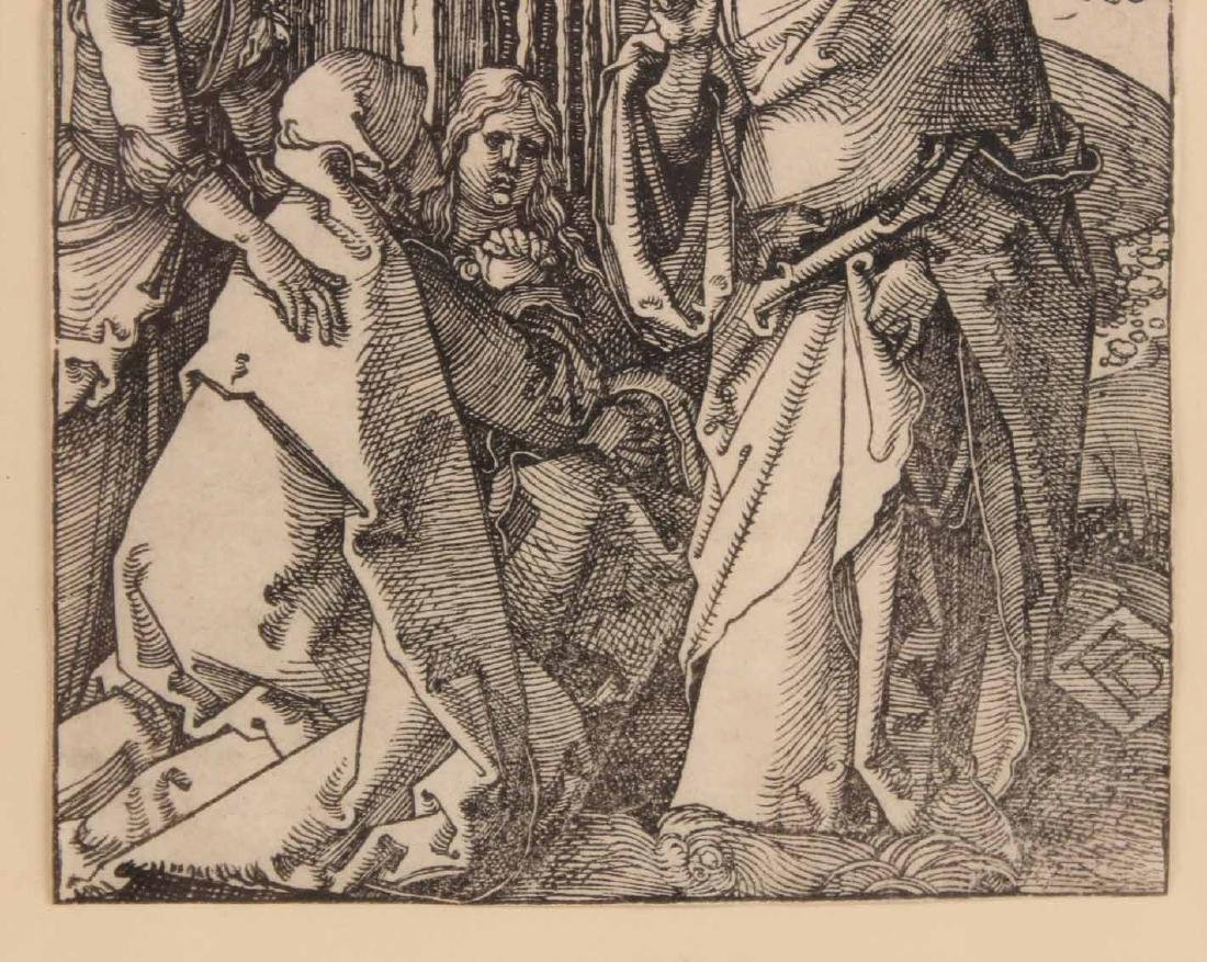 """Woodcut, """"Little Passion,"""" Albrecht Durer - 4"""