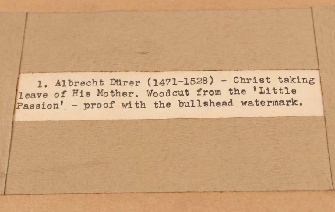 """Woodcut, """"Little Passion,"""" Albrecht Durer - 5"""