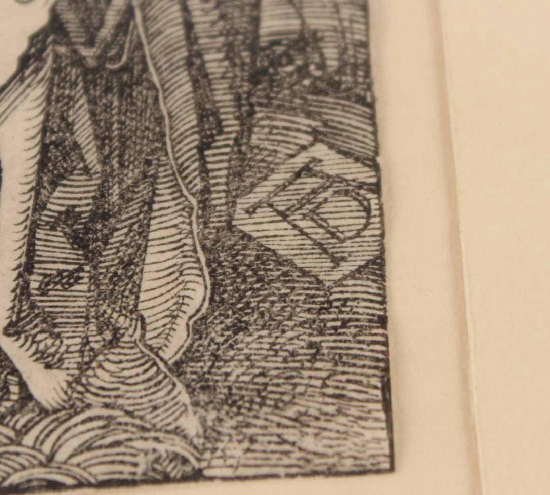"""Woodcut, """"Little Passion,"""" Albrecht Durer - 6"""